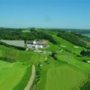 Aerial view from Waterford Golf Club