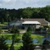 A view of the clubhouse at Pine Knot Golf and Country Club