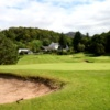 A view of the 2nd green at Gairloch Golf Club