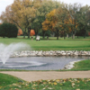 A view of the 14th green at Edgewood Country Club