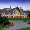 A view of the clubhouse at Oakhurst Golf & Country Club