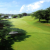 A view of the 1st hole at Raintree Nine Course from Clearwater Sanctuary Golf Resort