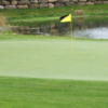 A view of a green at Shepherds Meadow Golf Course