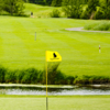A view from a green at Coyote Creek Course from Willows Run Golf Club
