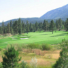 A view of fairway #2 at Montreux Golf & Country Club