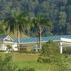 A view of the clubhouse at Gunung Raya Golf Resort
