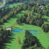 Aerial view from Lake Course at Bled Golf & Country Club