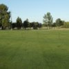 A view of the driving range at Bushwood Golf Club