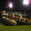 A night view of the Practice Center at Alhambra Golf Course
