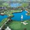 Aerial view from Palmira Golf Club