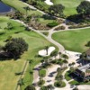 Aerial view from Estero Country Club