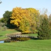 The bridge on the 16th hole at Silver Creek Golf Course