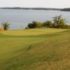 A view of the 7th green at Lambert's Point Golf Course.