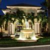 A view of the clubhouse at Mizner Country Club