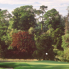 A view of a green guarded by bunkers at The Montgomerie Course from Carton House Golf Club