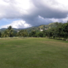 A view from Constant Spring Golf Club