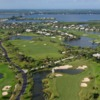 Aerial view of Orchid Island Golf & Beach Club