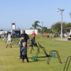 A view of the driving range at Suncoast Golf Center