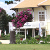 A view of the clubhouse at Dalat Palace Golf Club