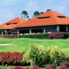 A view of the clubhouse at Tanah Merah Country Club