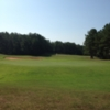 A view of a green at Woodland Hills Golf Club