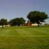 A view of a green at Prairie Winds Golf Course