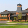 A view of the clubhouse at Kinderlou Forest Golf Club