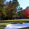 A fall view of hole #8 at River Hills Country Club