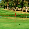 A view of a hole with water coming into play at Club Campestre Mexicali