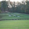A view of the 1st fairway at Blue from Rayburn Country Resort