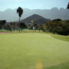 A view of green #7 at Sierra Course from Club Campestre Monterrey