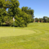 View of a green at Salem Harbour Golf Course
