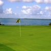 A view of green #5 with water in background from Cancun Golf Club at Pok-Ta-Pok