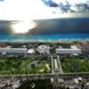 Aerial view of Grand Oasis Resort