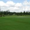 A view of a green at Kelab Golf Sarawak