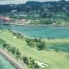 Aerial view from Kudat Golf & Marina Resort
