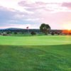 A view of a green at Isleta Eagle Golf Course