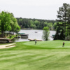 View of the 5th green at Harbor Club on Lake Oconee