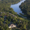 Aerial view of the Harbor Club on Lake Oconee