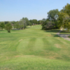 A view of a tee and fairway at Duncan Golf & Country Club