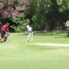A view of the practice area at Guatemala Country Club