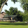A view from the clubhouse at Meadowbrook Golf Course
