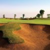 A view of fairway #10 at Fire Course from Jumeirah Golf Estates