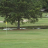 A view of a green at Humble Oil Patch Golf Course