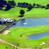Aerial view of the clubhouse at Haenen Golf Club