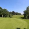A view of a green at the Etangs Course from Royal Golf Club Du Hainaut