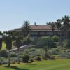 A view of the clubhouse at Golf del Sur