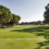 A view from a tee at Real Club de Golf Sotogrande.