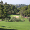 A view of fairway #1 at Don Cayo Golf Club