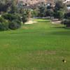 A view from the 5th tee at Estepona Golf Club